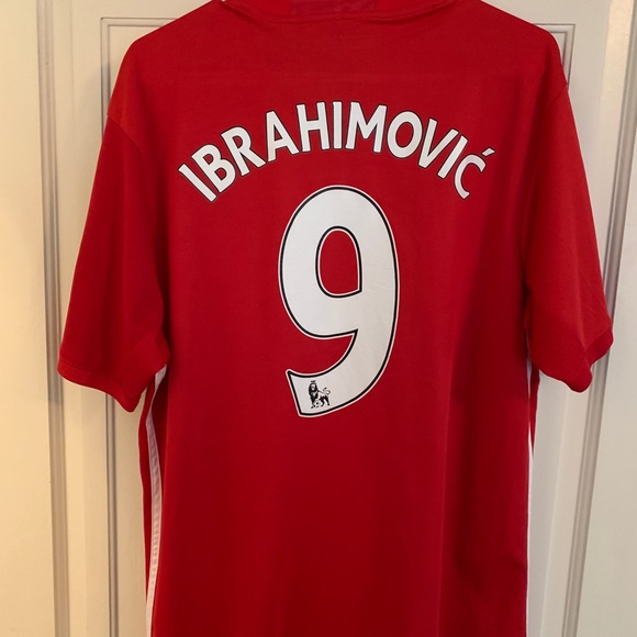 quality design e0044 cf026 Zlatan Ibrahimovic Manchester United Jersey
